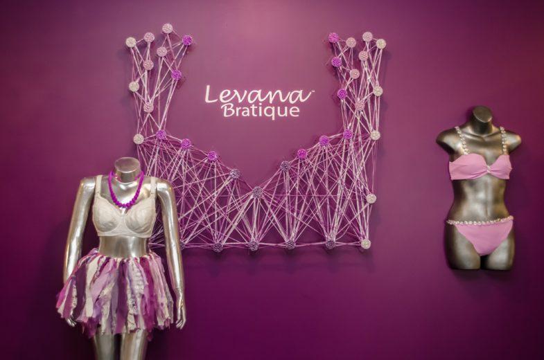Beautiful displays at Levana