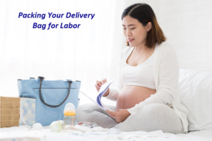 packing bag for labor and delivery